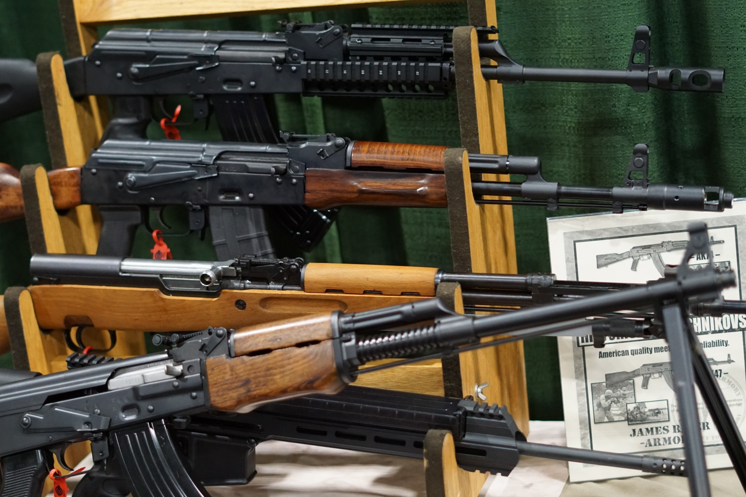James River Historical Reproduction Rifles | SHOT 2017 -The Firearm Blog