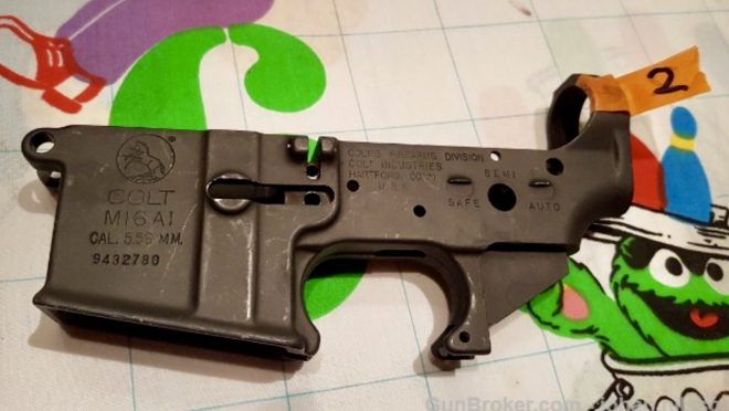 FOR SALE: Colt M16A1 Full Auto Lowers $499ea -The Firearm Blog
