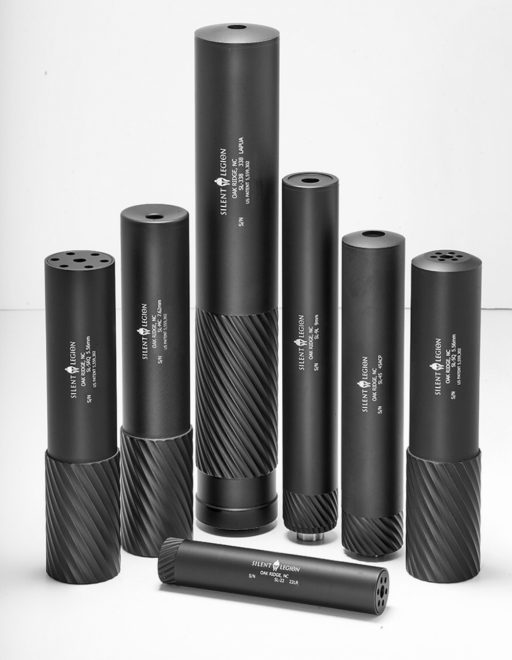 Silent Legion Suppressors