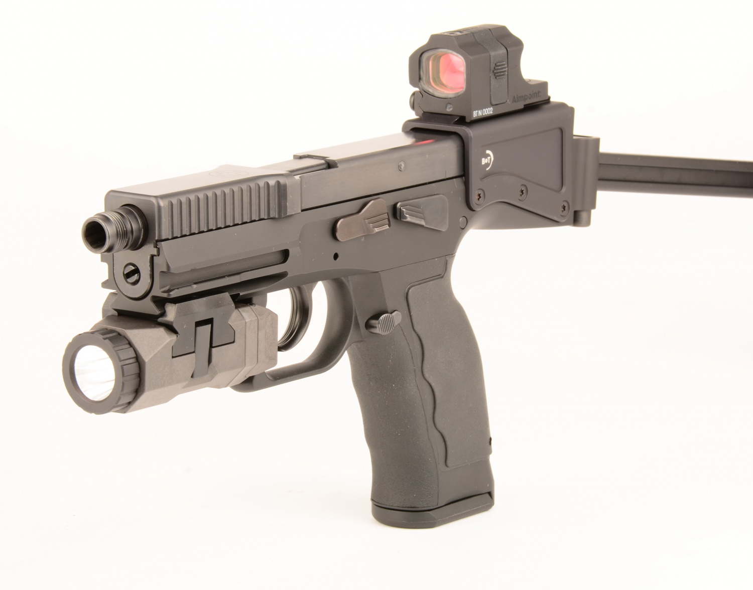 The B Amp T Usw Universal Service Weapon And Aimpoint Nano