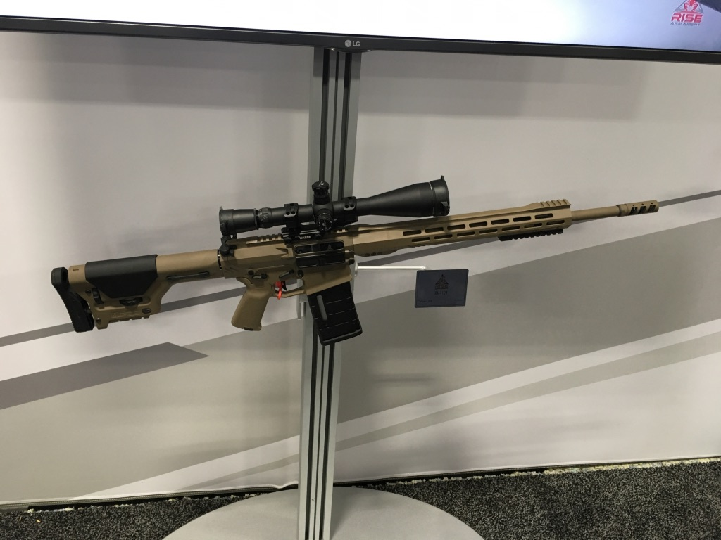 RISE .308 available this spring. Very nice shooting rifle. 960 yards, round after round, with no movement. Send it...