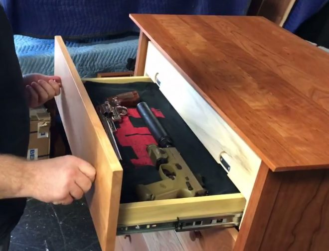 Sirearms Concealment Furniture A New Twist The Firearm Blog