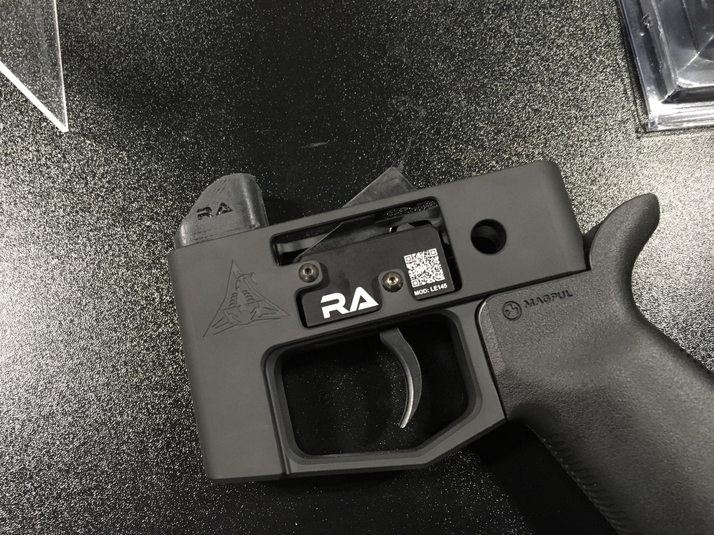 RISE Armament new LE145 trigger. Geared more for the LE community.