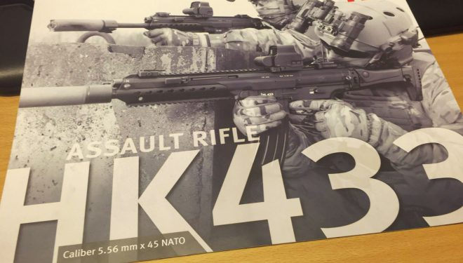 Breaking: News from Heckler & Koch - HK433 A New Rifle! -The