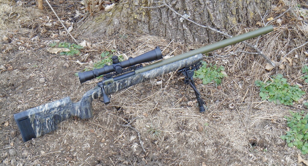 Curtis Tactical Integrally Suppressed Savage -The Firearm Blog