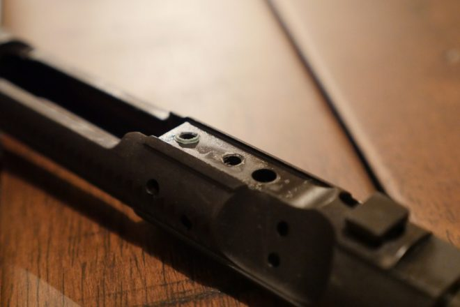 Bolt Carrier Group With Gas Key Removed