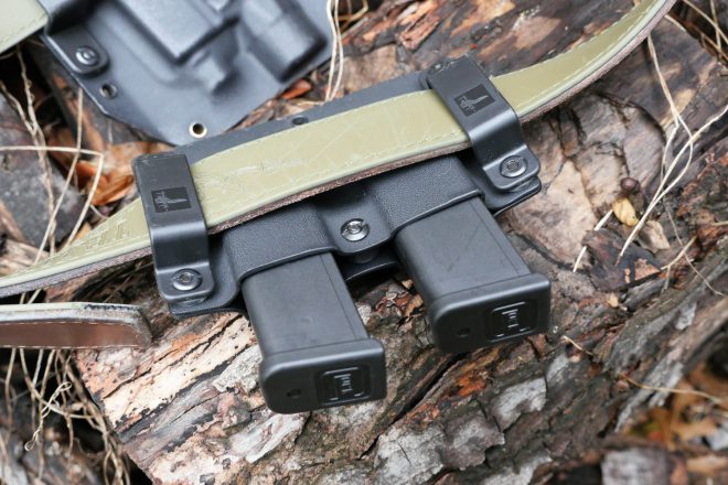 Bravo Concealment Mag Pouch On Magpul El Original Tejas Belt