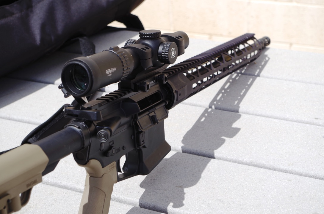 A good shooting rifle, light and accurate.