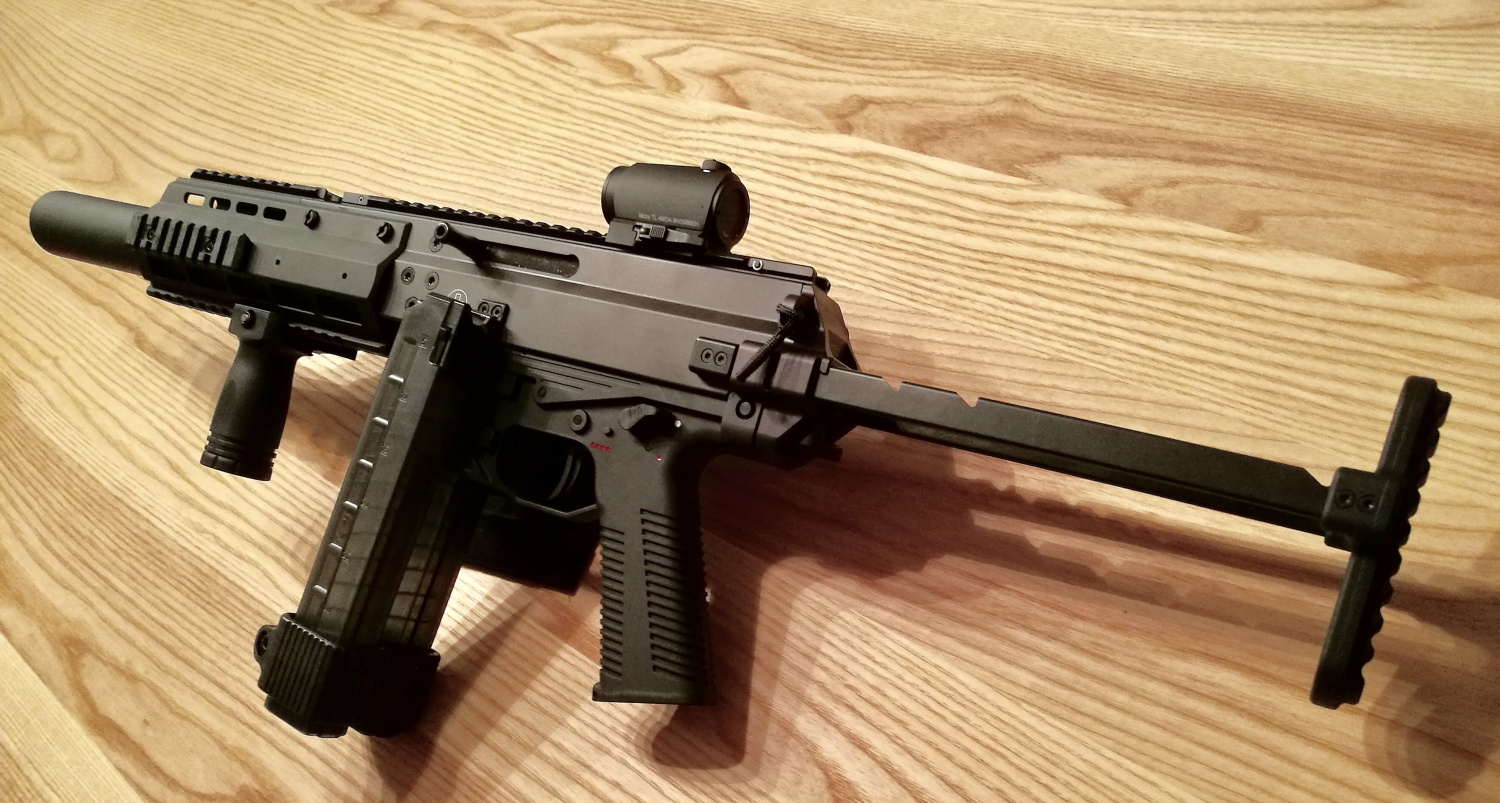 Real Deal B Amp T Apc9sd In The Wild The Firearm Blog