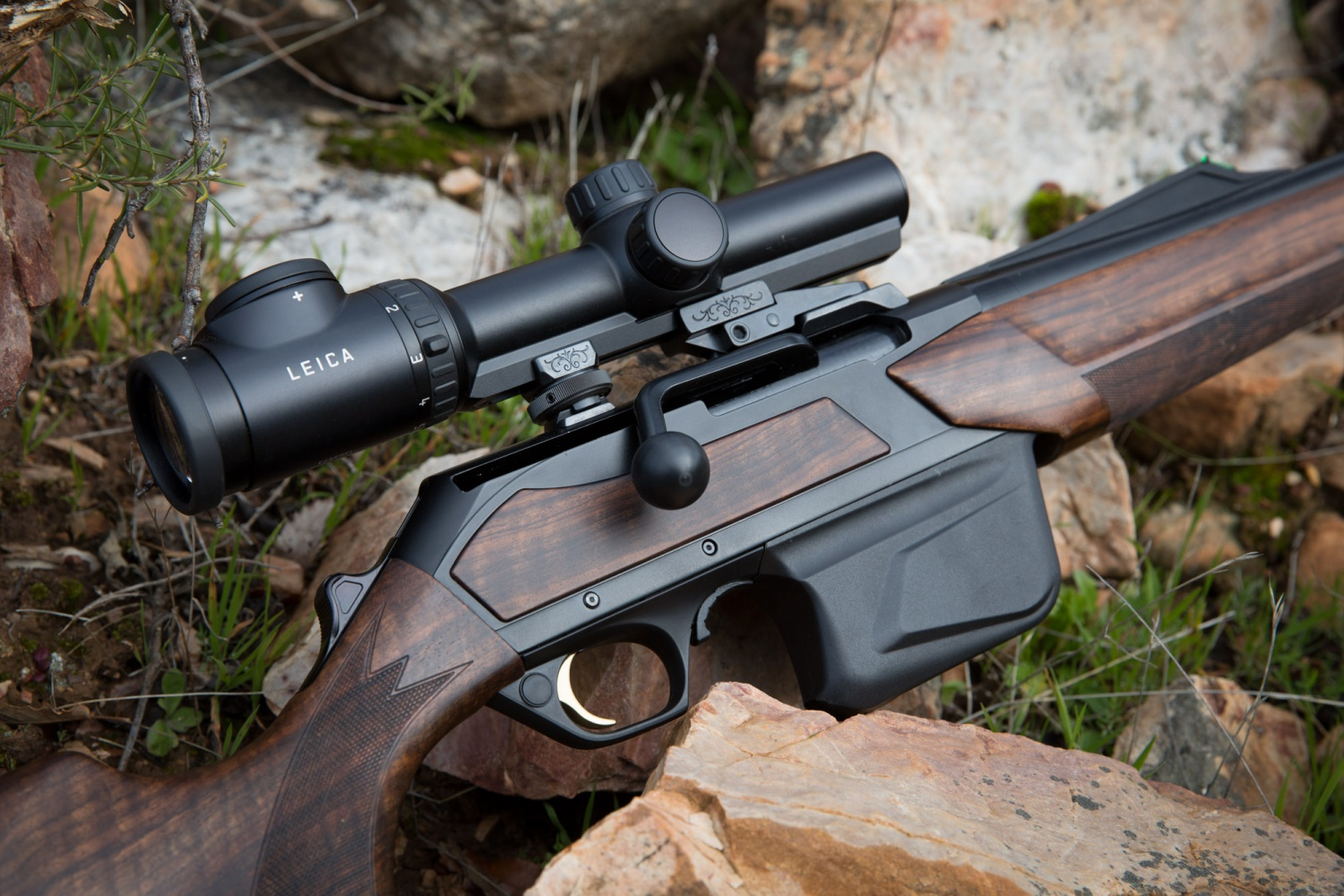Bar Action In Straight Pull Elegance The Browning Maral