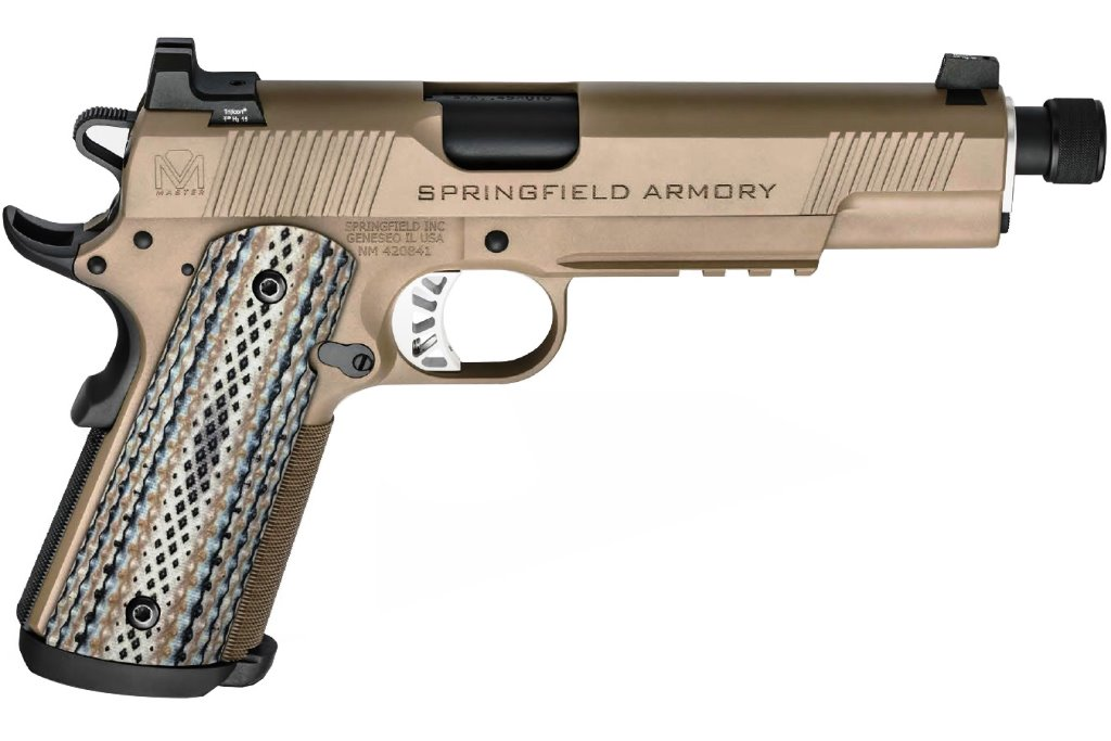SHHHHH!!!... the Springfield Armory Silent Operator has Arrived -