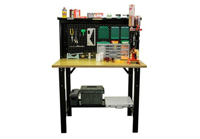 Stack On Offers A New Reloading Bench The Firearm Blogthe Firearm Blog