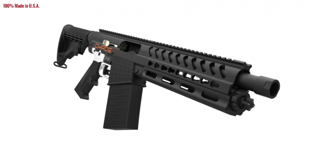chaos 12 a shotgun with ar parts compatibility the firearm blog