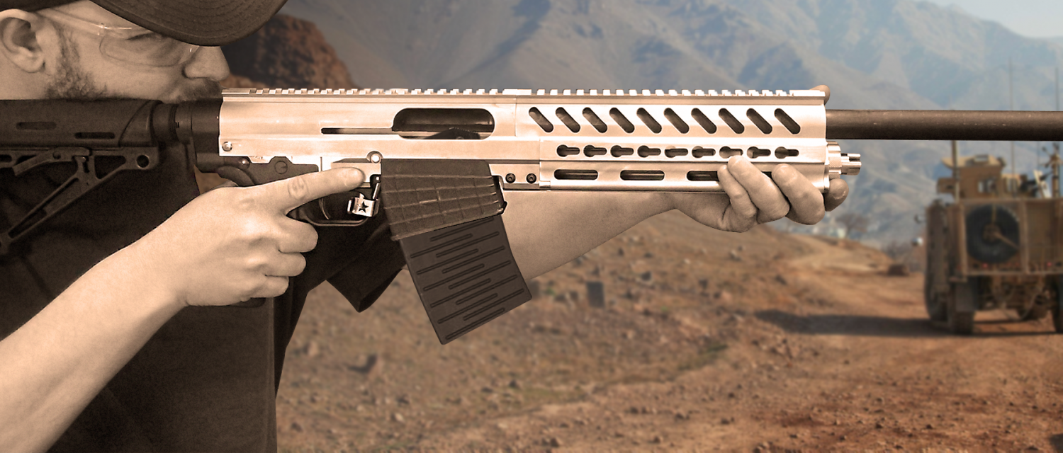 Chaos-12: A Shotgun With AR Parts Compatibility -The Firearm