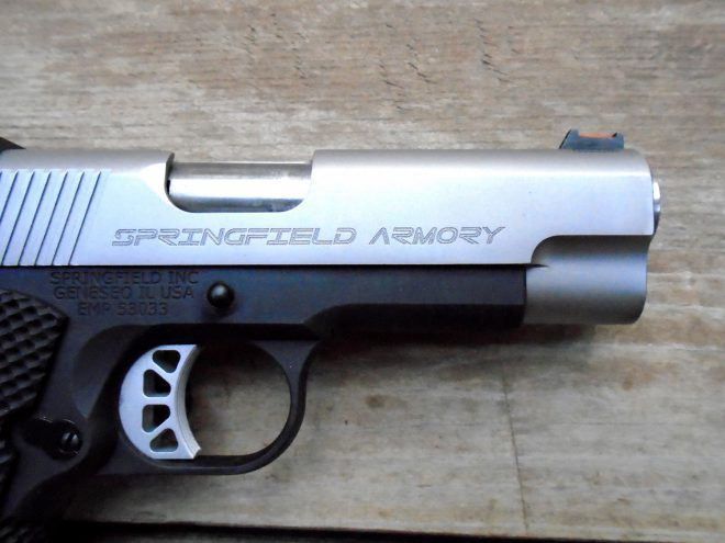 "Pistol Review : Springfield Armory 1911 EMP 4"" Concealed Carry"