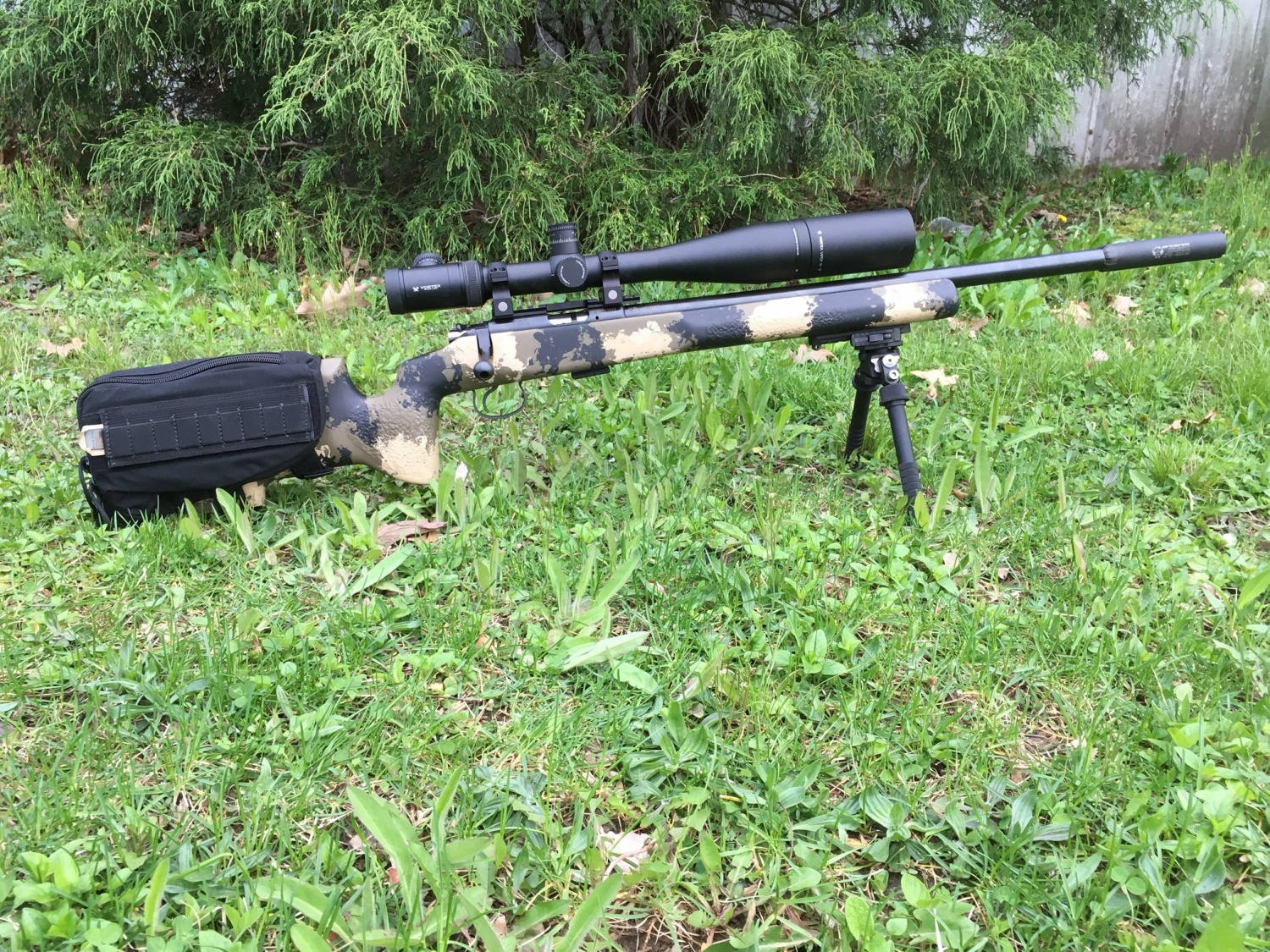 Cz 455 varmint review youtube - It Comes With That Camouflaged Manners Stock Made For The Cz 455 He Mounted A Viper Pst 6 24x Scope And A Bt Industries Atlas Bipod