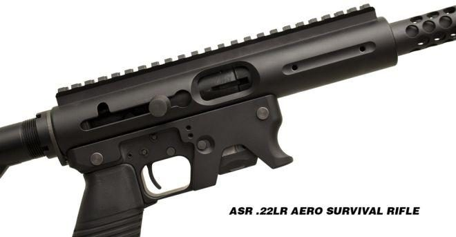 Tnw Firearms Aero Survival Rifle Now Chambered In  22lr
