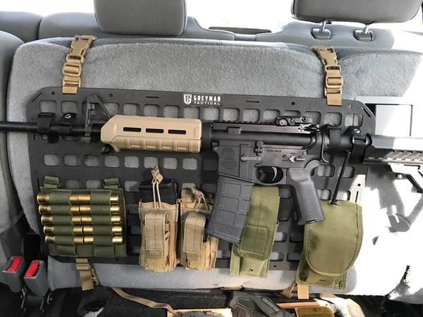 Jeep Seat Covers >> An Even Tacticooler Molle Seat Cover - The Grey Man Tactical Rigid MOLLE Panels -The Firearm Blog