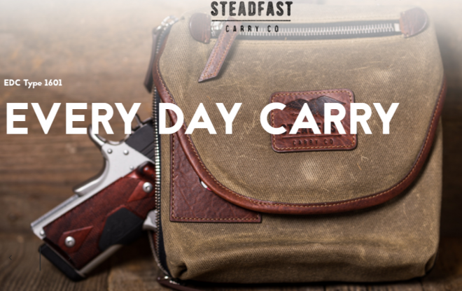 """6e28fcb984bf Billed as the carry company for the """"Modern Man"""" the Steadfast Carry  Company has been working on products for the modern active lifestyle."""