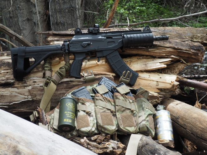 Review: Galil ACE GAP39SB-Backpack Sized 7 62x39 Firepower