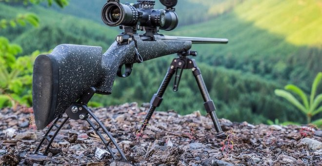 Bipod Like Device Instead Of The Bean Bag Rest The