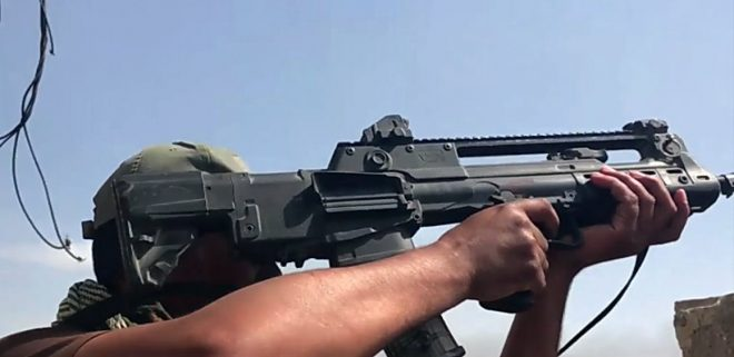 More Images Of Vhs Bullpup Rifles In Iraq The Firearm Blog