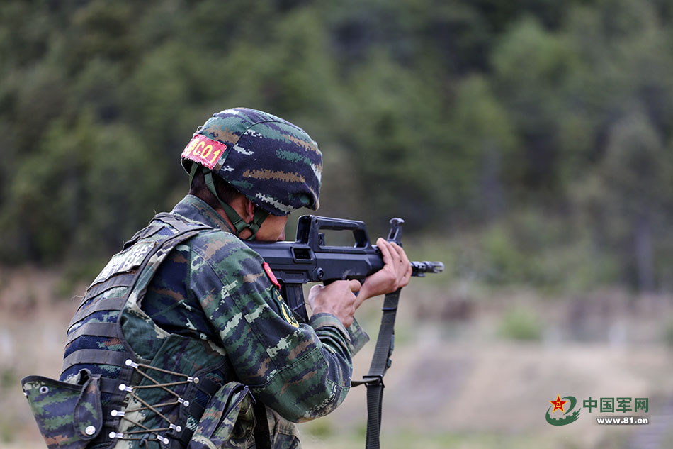 Chinese Military Police Competition -The Firearm Blog
