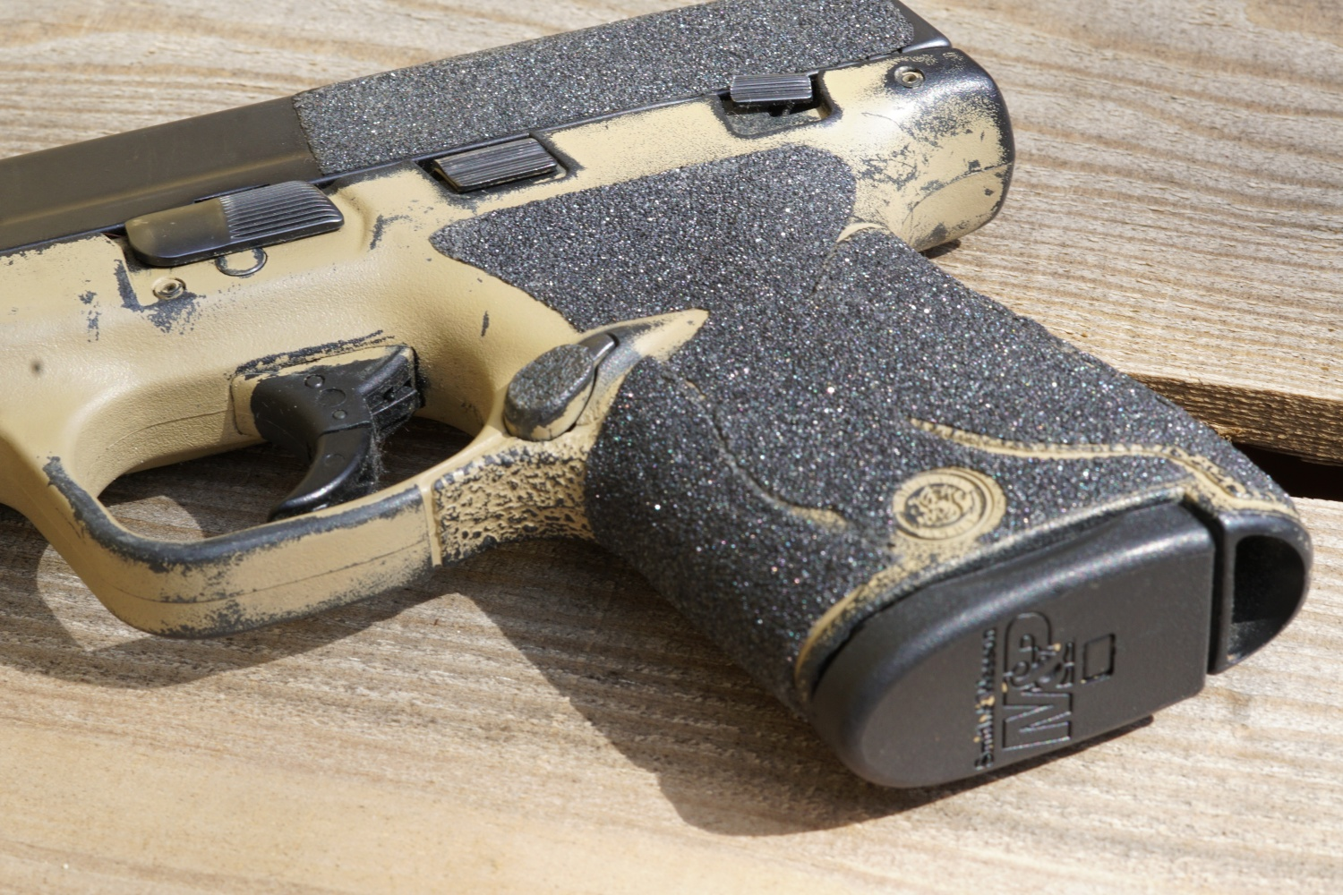 Tfb Review Talon Adhesive Grips For M Amp P Glock And Many