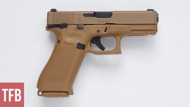 While the contract was for 9mm Glock also produced a Glock 23 MHS model in 40 S&W. Unlike other participants in the competition Glock only submitted one ...