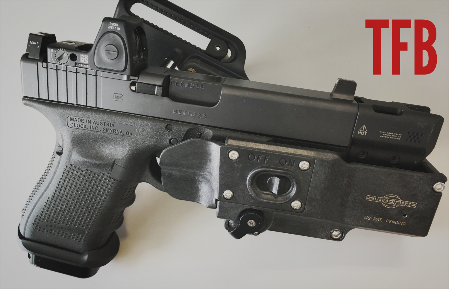 Surefire Masterfire Holster With X300 Weaponlight Review