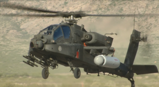 Attack Helicopters with Frickin Laser Beams Under Their Wings: US