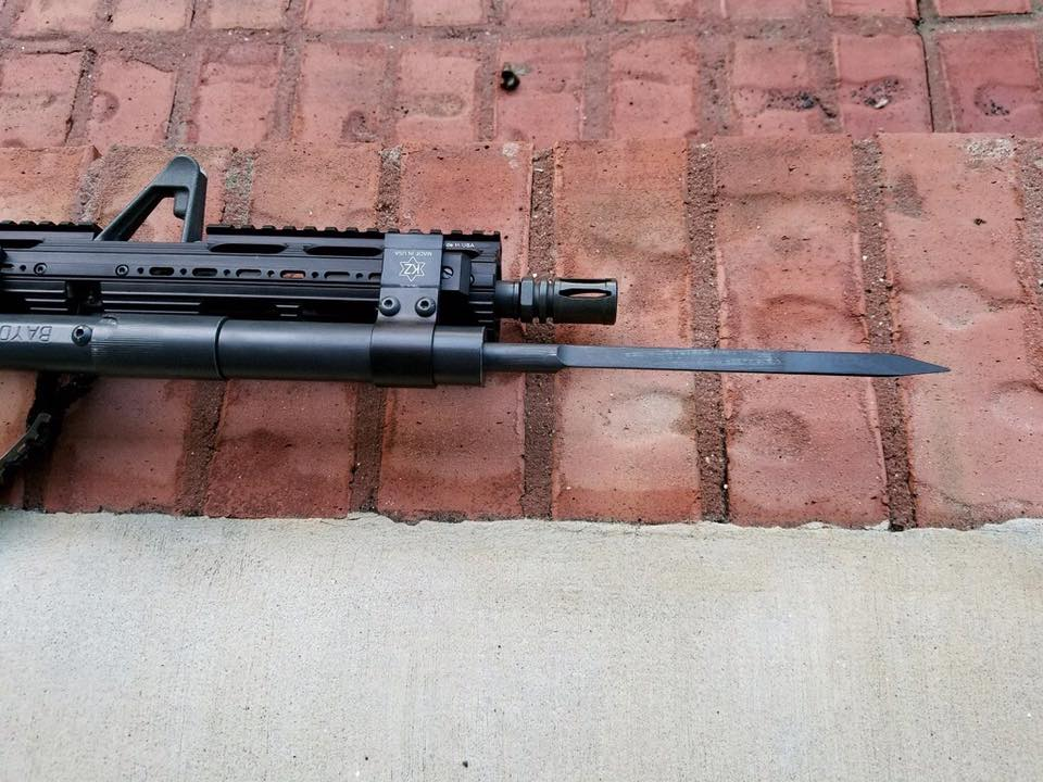 The Bayonext Out The Front Bayonet -The Firearm Blog