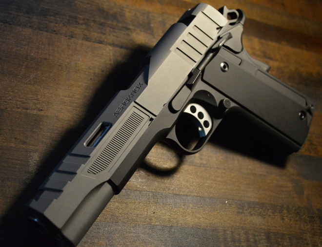 NEW: Aeroknox 1911 Slide called AX // 01 -The Firearm Blog