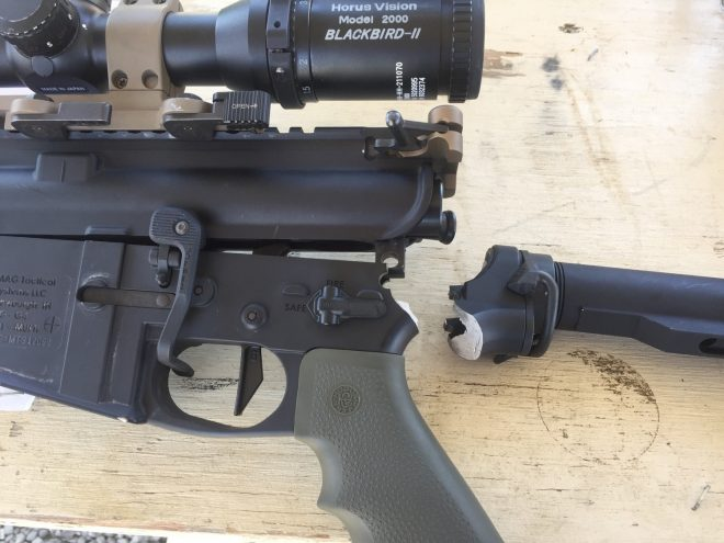 Magnesium AR15 Lower Snaps In Epic Fashion -The Firearm Blog