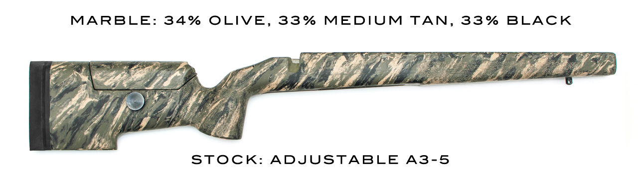 New Mcmillan A5 22 Rimfire Stock For 10 22 Actions The