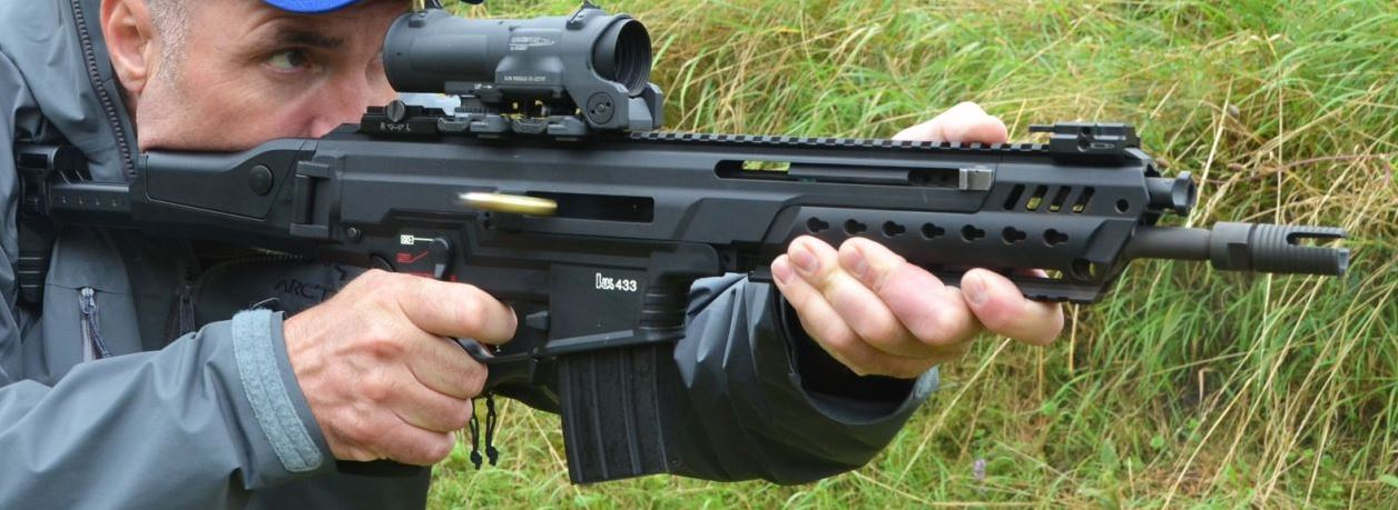 Hk433 The First Practical Test The Firearm Blogthe
