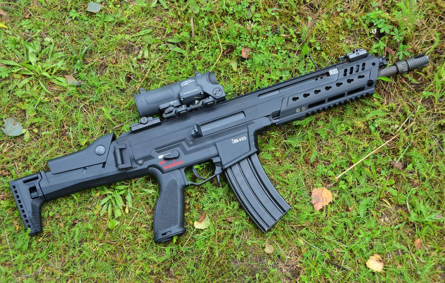 Fast In German >> HK433 - The first practical test -The Firearm Blog