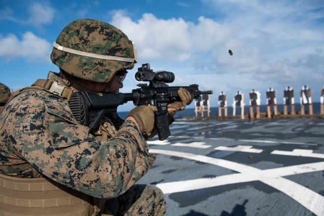 50 000 more h k m27s for marines usmc releases m27 iar sole source