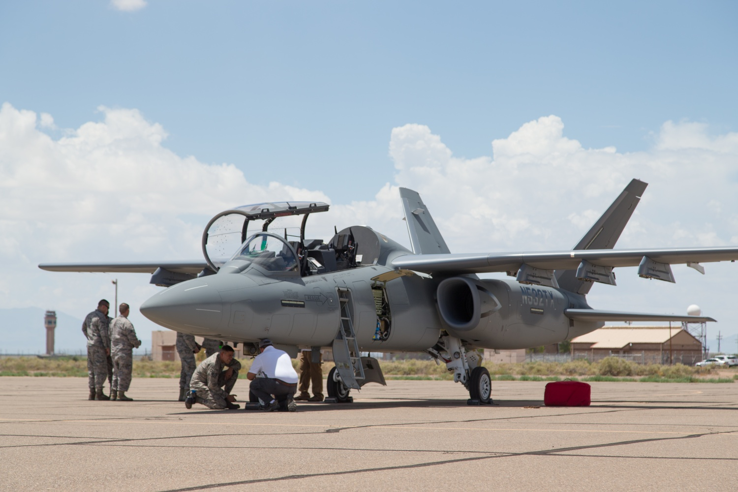 The A 10 S Little Brother Usaf S Oa X Light Attack Demo