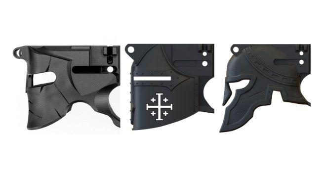 Helmet Shaped AR-15 Lower Receivers are the New Trend! -The Firearm Blog