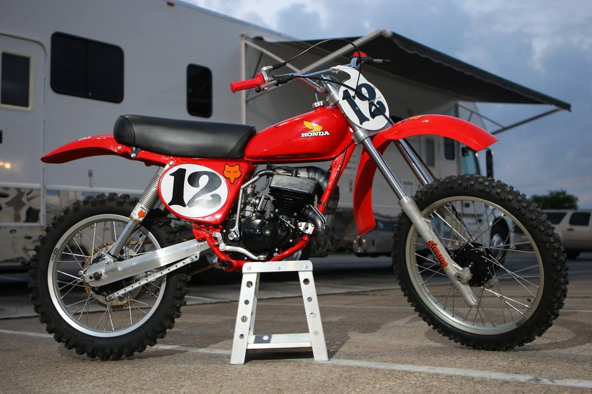 Yankee Hill Machine Goes Retro Dirt Bike With Turbo The Firearm Blog Pink Honda Included Pic Of A Yhm Customers 1977 Cr125 Fox Air Shox Was Used For Inspiration