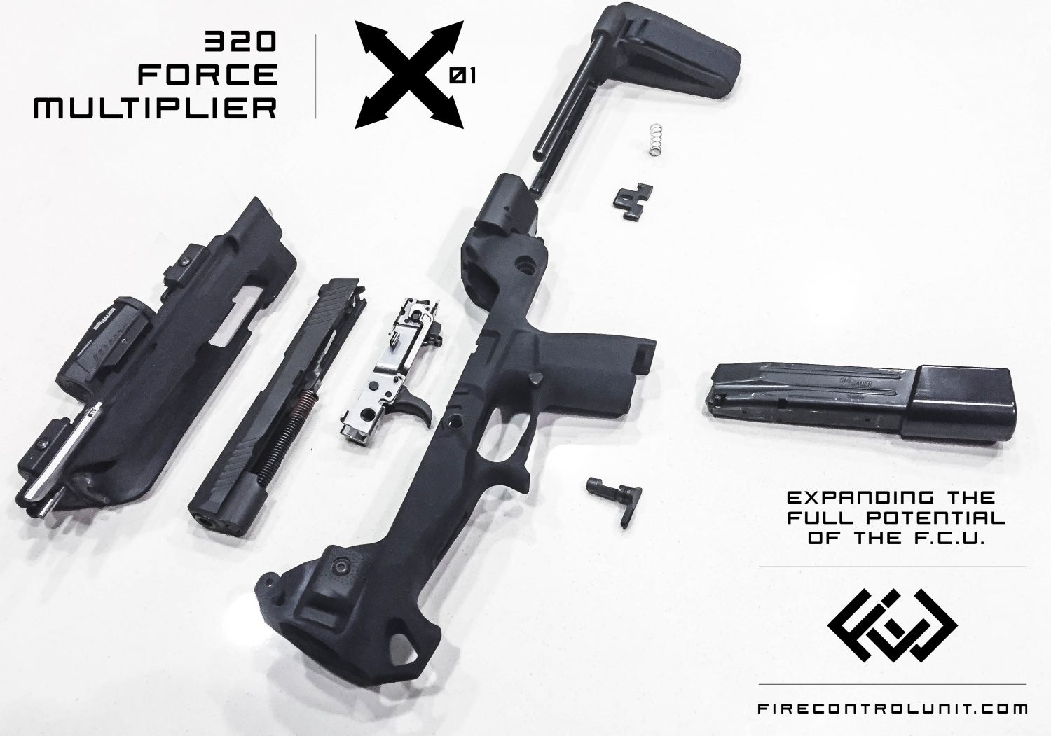 P320 Carbine Chassis - EXO ONE From FireControlUnit -The