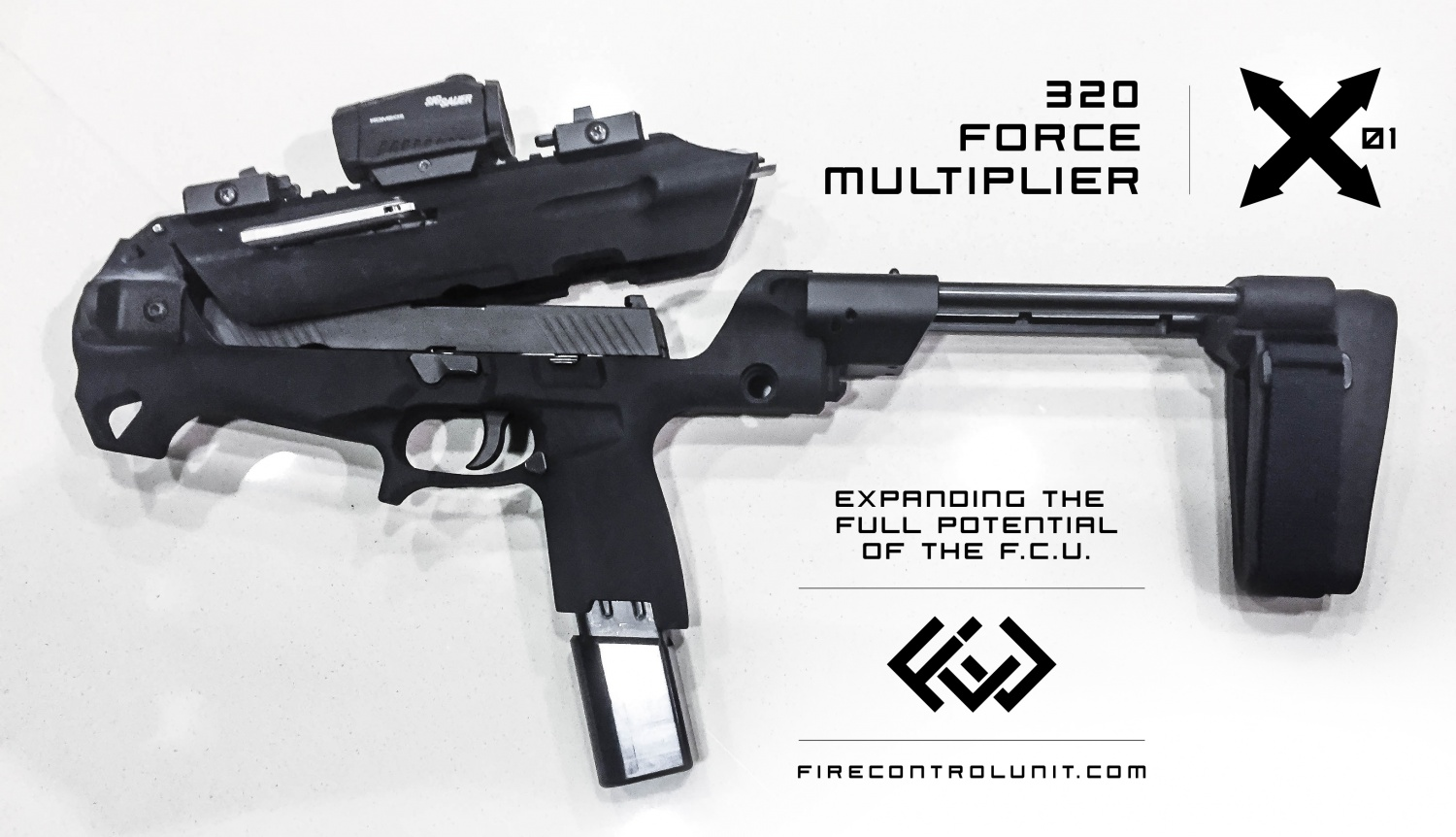 P9 Carbine Chassis - EXO ONE From FireControlUnit -The Firearm Blog