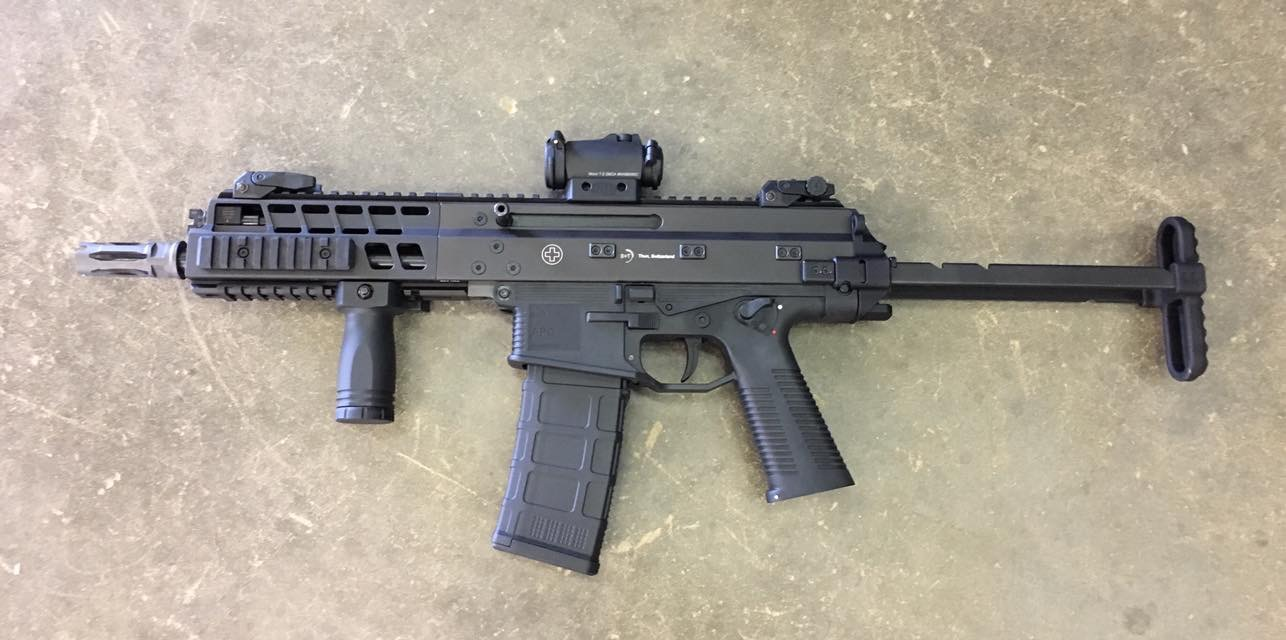 B Amp T Apc223 With Telescoping Stock The Firearm Blog