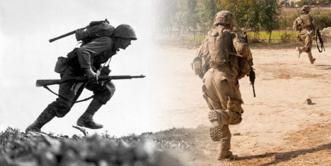 cfb21642f12 World War II vs. Today  Comparing the Soldier s Load in Two Eras ...