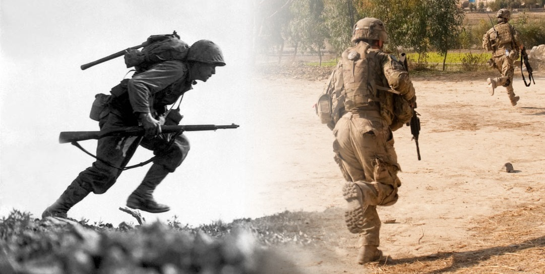 World War Ii Vs Today Comparing The Soldier S Load In