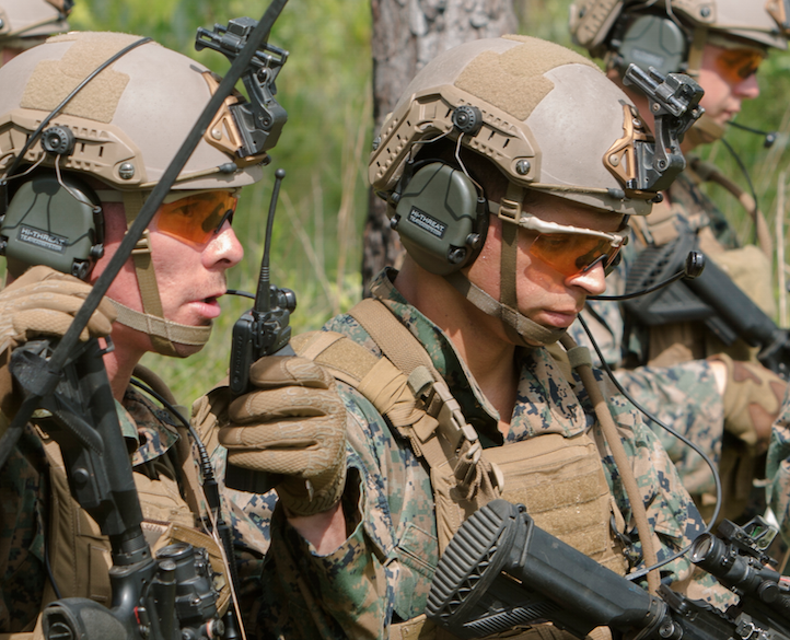 1 6 Uber Squad Hits Local Range At Camp Lejeune With