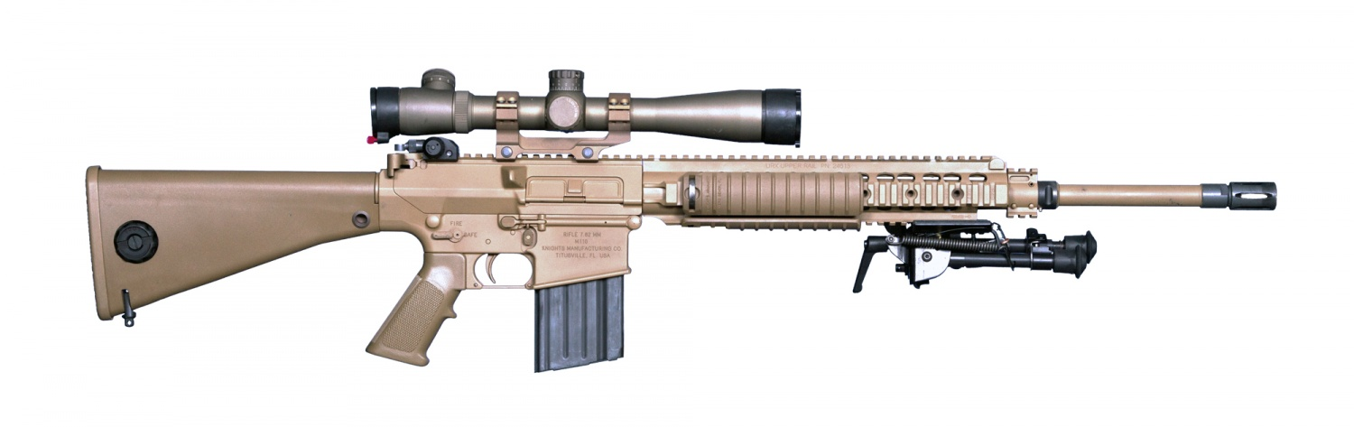 POTD: How Long Is Your Can? - The Firearm BlogThe Firearm Blog M110 Sniper Rifle Suppressed