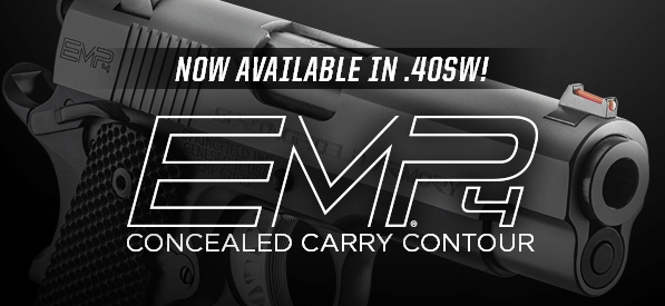 NEW: Springfield Armory EMP4 Concealed Carry Contour in  40