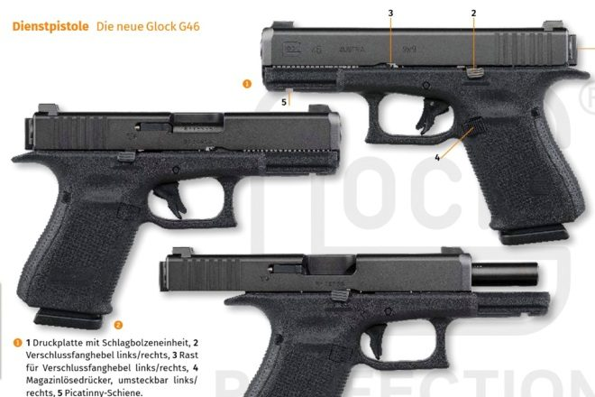 New GLOCK 46 With Rotating Barrel Lockup for German Police Trials ...
